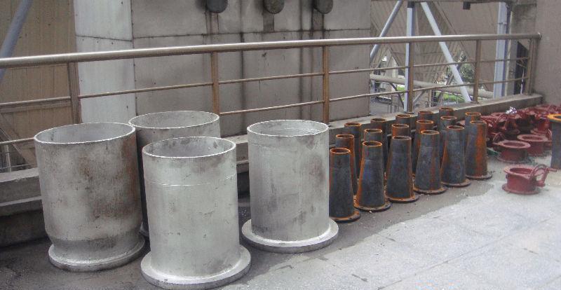 落煤管导灰管